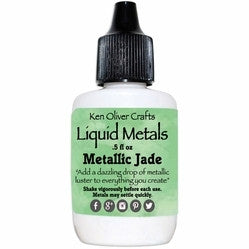 Ken Oliver Color Burst Liquid Metals - Metallic Jade - Shop and Crop Scrapbooking