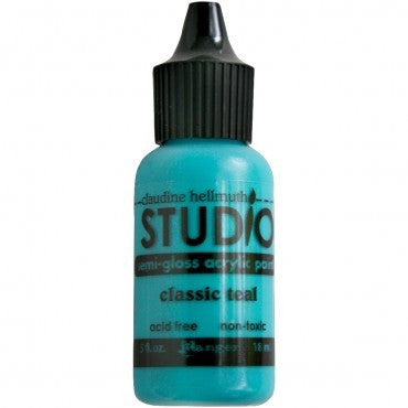 Claudine Hellmuth Studio Mini's - Classic Teal 18ml - Shop and Crop Scrapbooking