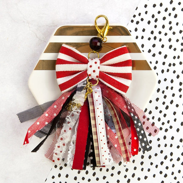 "My Prima Planner Tassel - ""Pretty In Rouge"" - Shop and Crop Scrapbooking"