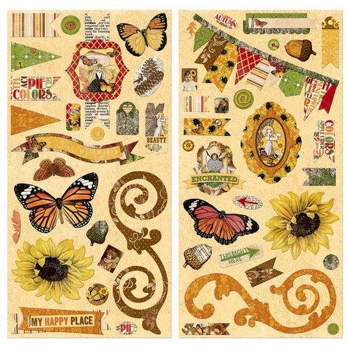 BoBunny Enchanted Harvest Collection Chipboard Stickers