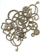 Botanical Clockworks Chipboard