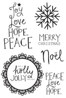 Holly Jolly Stamp - CS240
