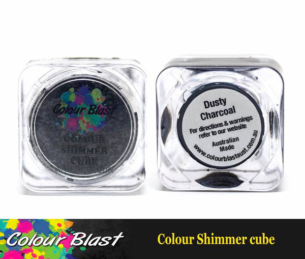 Colour Shimmer Cube - Watercolour - Dusty Charcoal