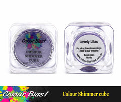 Colour Shimmer Cube - Watercolour - Lovely Lilac