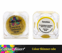 Colour Shimmer Cube - Sunshine