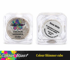Colour Shimmer Cube - Watercolour - Snow White