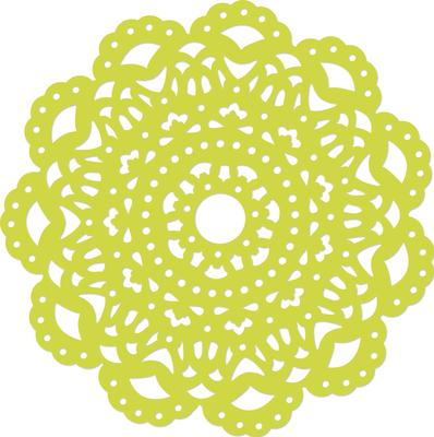 Decorative Die Detailed Doily