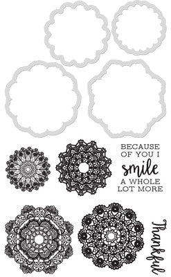 Kaisercraft Decorative Die & Stamp Doilies