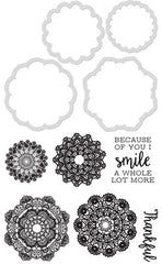 Kaisercraft Decorative Die & Stamp - Doilies DD940