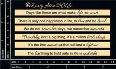 Dusty Attic Quoted Sentiments #1