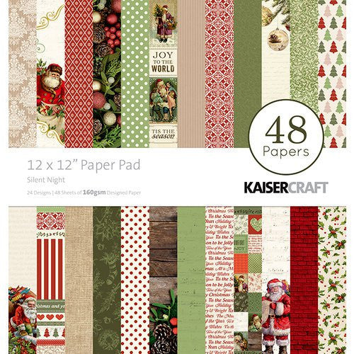 Kaisercraft - Silent Night 12x12 Paper Pad