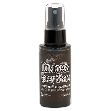 Ranger Ink - Tim Holtz - Distress Spray Stain - Ground Espresso