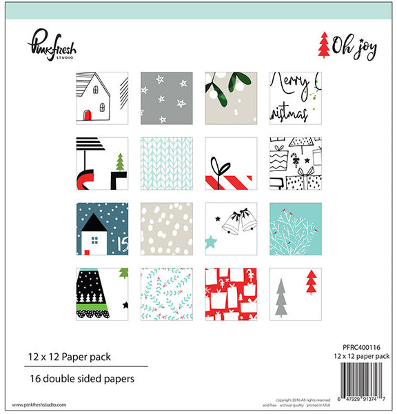 Pinkfresh Studio Oh Joy Collection Kit - Shop and Crop Scrapbooking