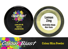 Colour Mica Powder - Lemon Zing