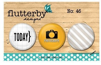 Flutterby Designs Photograph Flair Set - Shop and Crop Scrapbooking