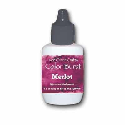 Color Burst Powder - Merlot - Shop and Crop Scrapbooking