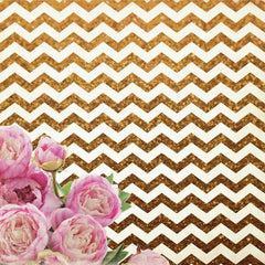 All That Glitters 12x12 Specialty Paper - Chevron Glitter