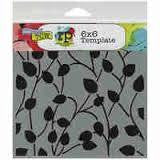 TCW 6x6 Climbing Vine Reverse Template - Shop and Crop Scrapbooking