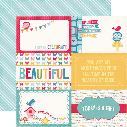 Echo Park 4X6 Journaling Cards- Fine & Dandy - Shop and Crop Scrapbooking