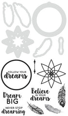 Decorative Die & Stamp Dream Big