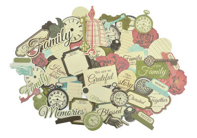 Generations Die Cuts - Shop and Crop Scrapbooking