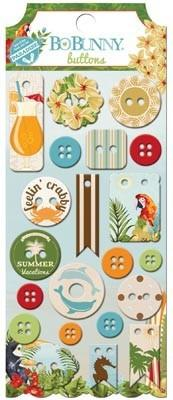 Beach Therapy Buttons - Shop and Crop Scrapbooking