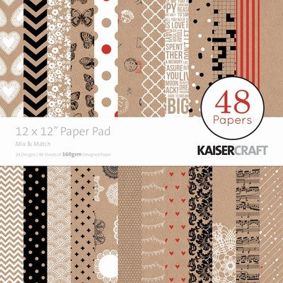 Mix & Match Paper Pad 12x12