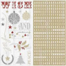 Teresa Collins -Tinsel & Co -Chipboard Letters - Shop and Crop Scrapbooking