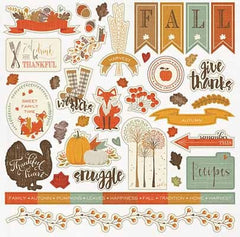 photo Play Paper- Autumn Day Element Sticker
