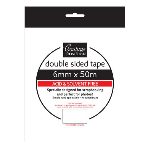 6mm x 50m Double Sided Tape - Shop and Crop Scrapbooking