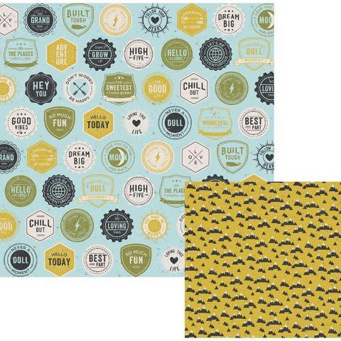 Flair 12x12 Paper We R Memory Keepers High Five - Shop and Crop Scrapbooking