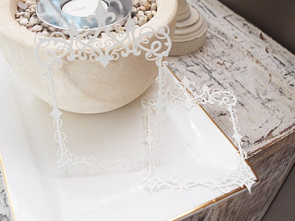 Ornate frames REGENCY WHITE