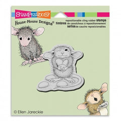 Stampendous Cling Jelly Bean Thief Stamp