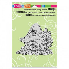 Stampendous Cling Garden Home Stamp