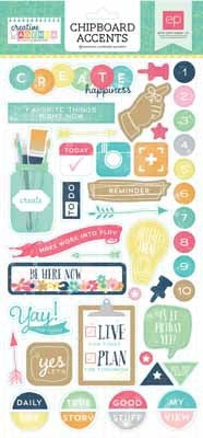 Creative Agenda 6X13 Chipboard - Shop and Crop Scrapbooking