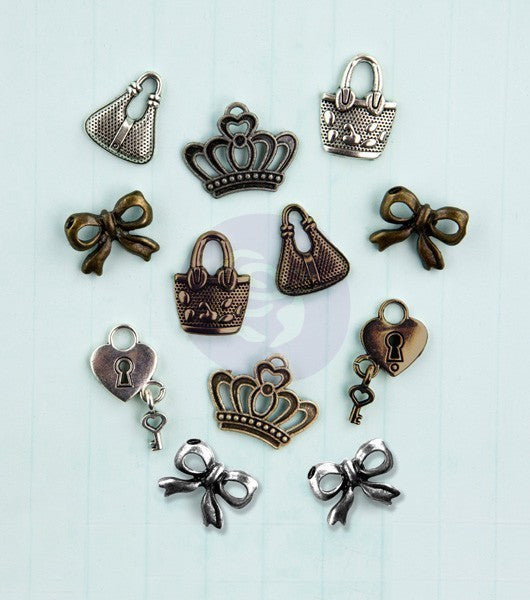 Julie Nutting- Metal Embellishments - Shop and Crop Scrapbooking