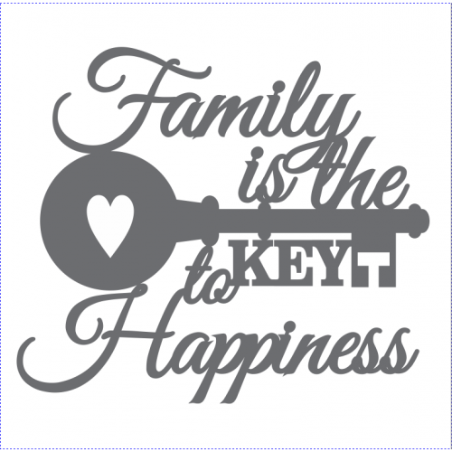 FAMILY-IS-THE-KEY-TO-HAPPINESS-WOW2402 - Shop and Crop Scrapbooking