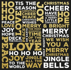 A Touch of Gold Christmas Words Foil Specialty PS423