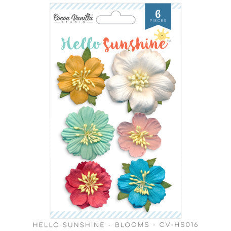 Hello Sunshine Blooms - Shop and Crop Scrapbooking