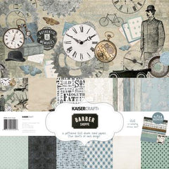 Barber Shoppe Paper Pack with Bonus Sticker Sheet