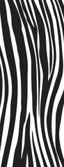 Into The Wild Texture Clear Stamp Zebra