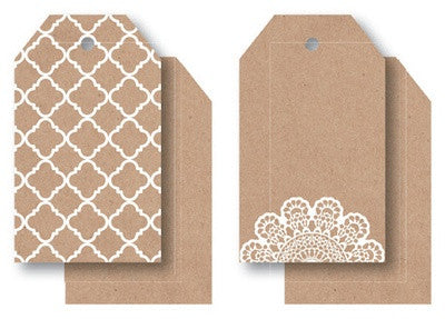 Lacy Tag Pack 12pk