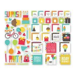 Birthday SN@P! Insta-Squares & Pieces - Shop and Crop Scrapbooking