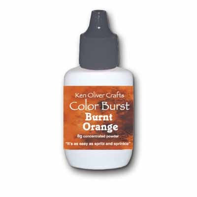 Color Burst Powder - Burnt Orange - Shop and Crop Scrapbooking