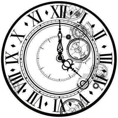 Time Machine Time Acetate Specialty - PS425 - Shop and Crop Scrapbooking