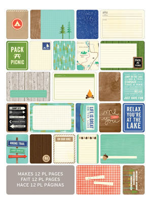 Themed Cards-Great Outdoors 60pk - Shop and Crop Scrapbooking