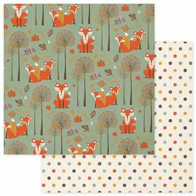 Photo Play Paper- Autumn Day Foxes - Shop and Crop Scrapbooking