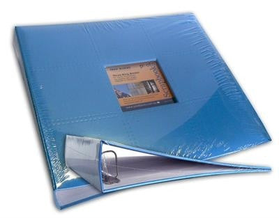 12x12 D Ring Album Sky Blue - Shop and Crop Scrapbooking