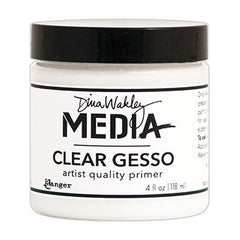 Dina Wakely Media Clear Gesso