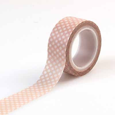 Carta Bella It's A Girl-Decorative Tape - Gingham - Shop and Crop Scrapbooking